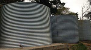 Round Steel Tank