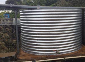 slimline steel rainwater tanks