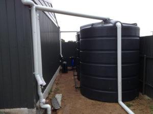 Slim line poly tanks