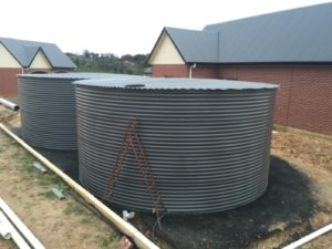 Factory rolled tank sections
